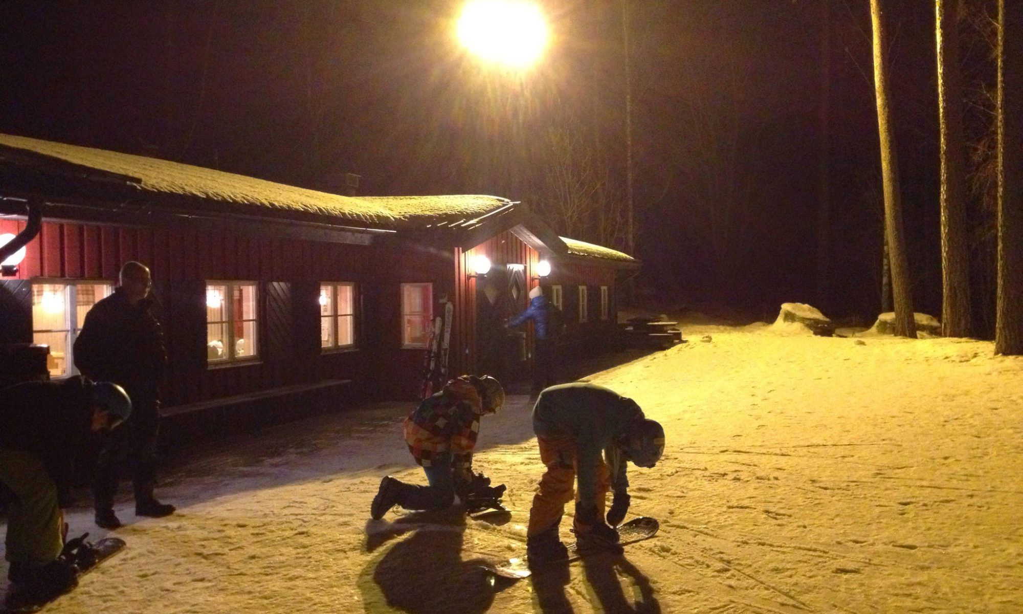 Kvällsöppet i Skattmansöbacken